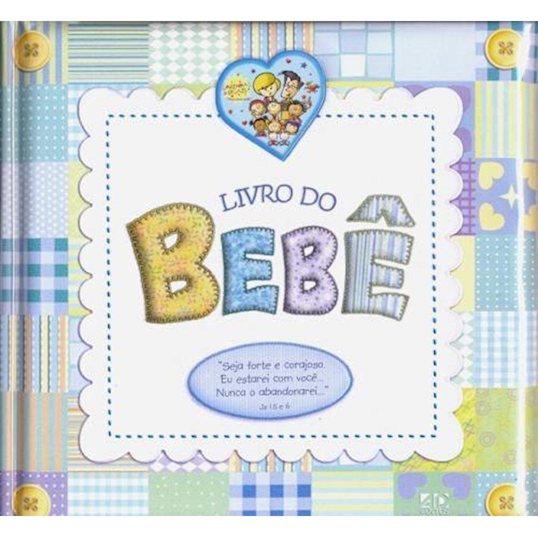 Livro do Bebê - Menino / Luxo