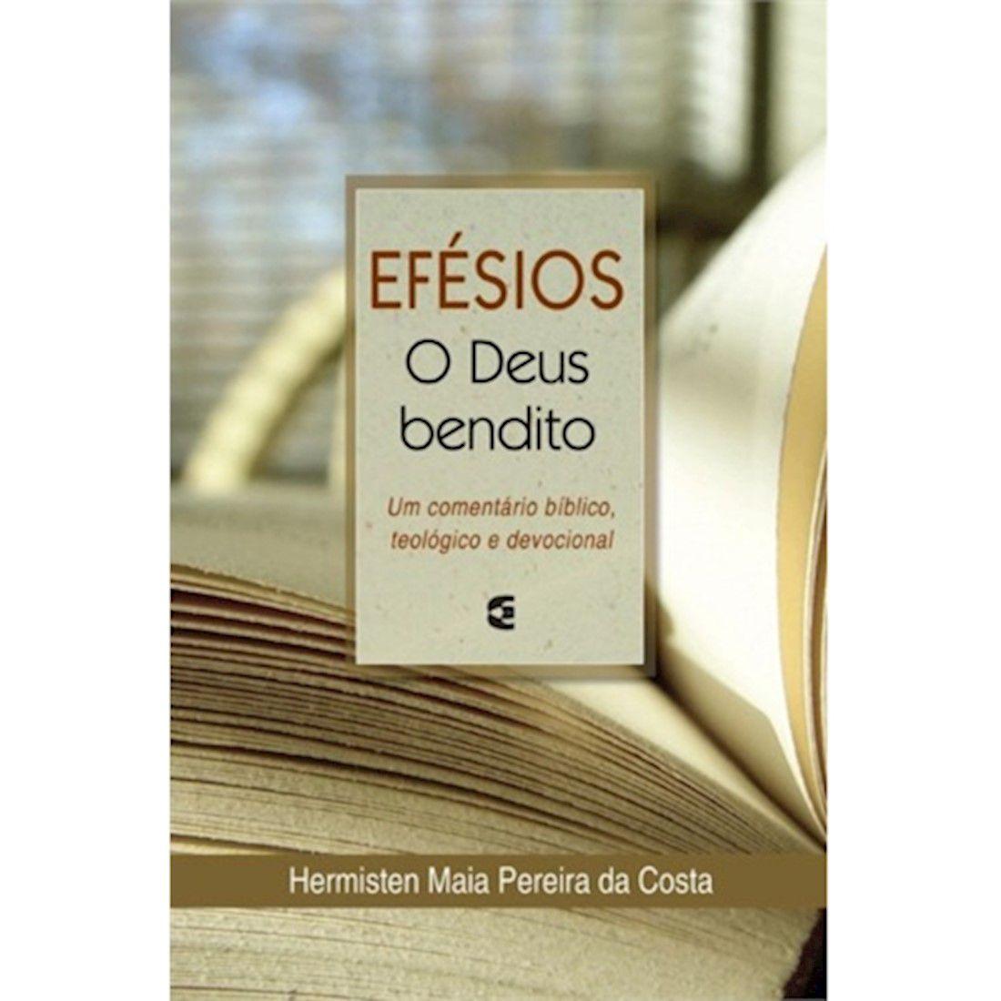 Livro Efésios o Deus Bendito