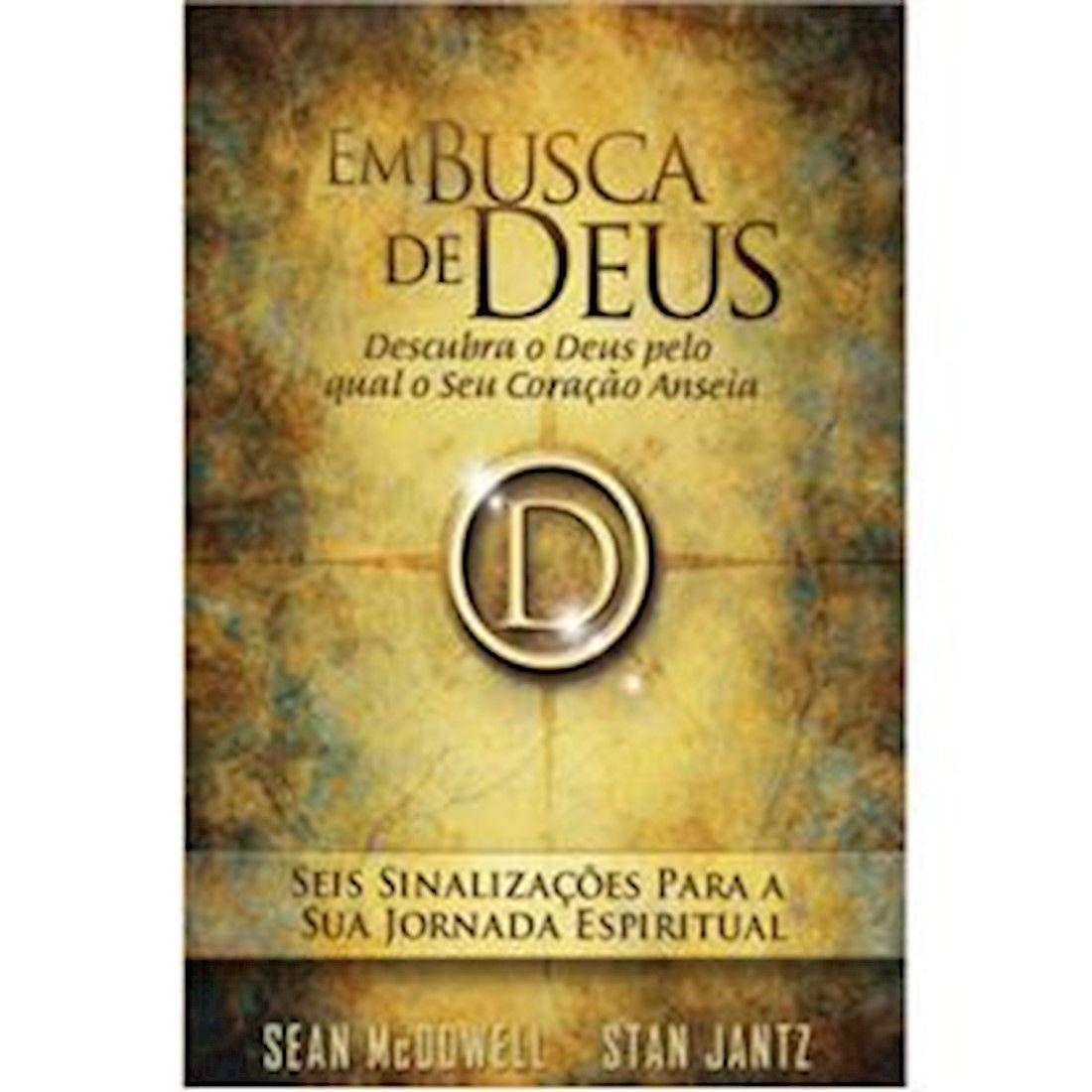 Livro Em busca de Deus
