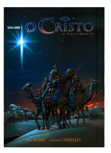 Livro em Quadrinhos O Cristo - O Nascimento - Vol. 1