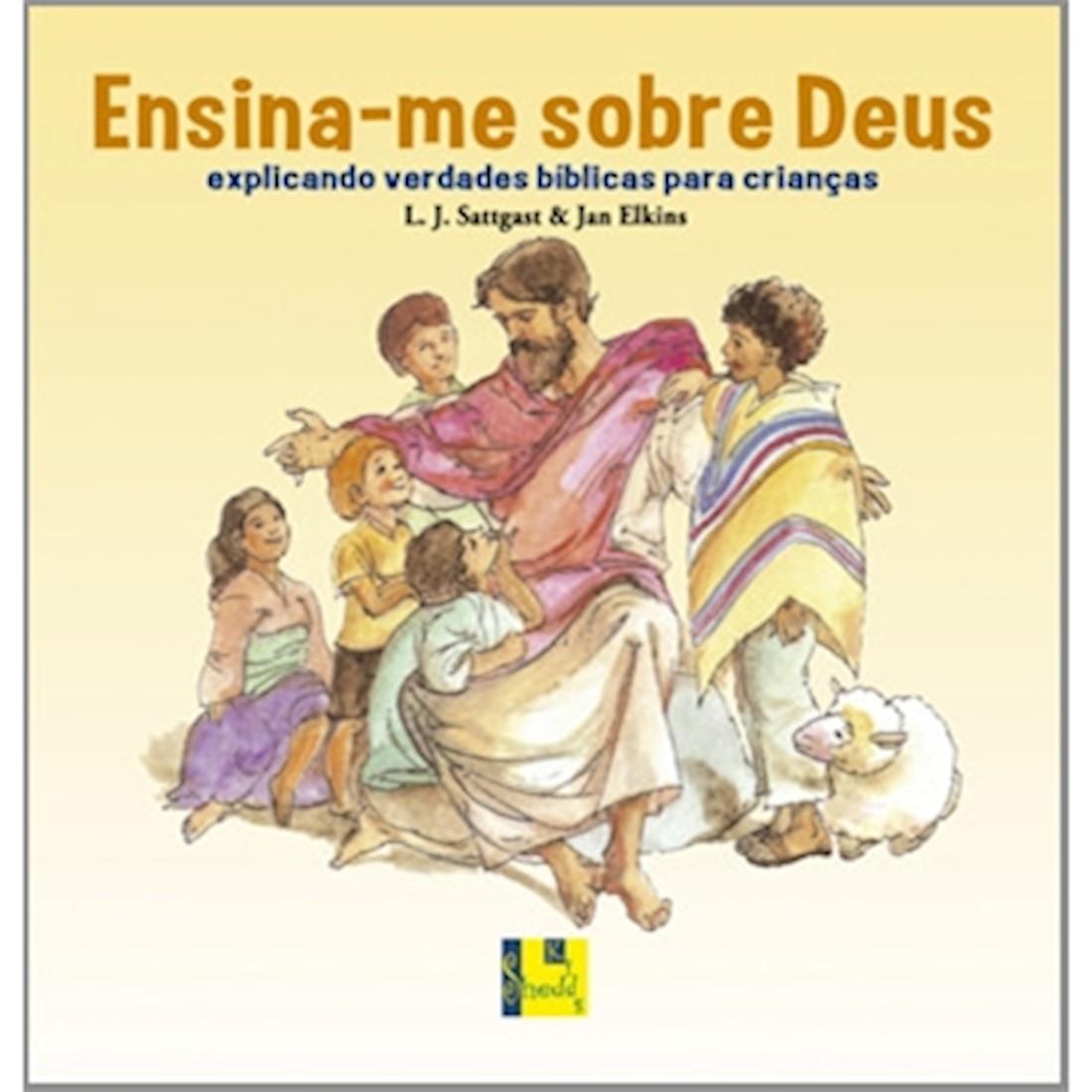 Livro Ensina-me sobre Deus
