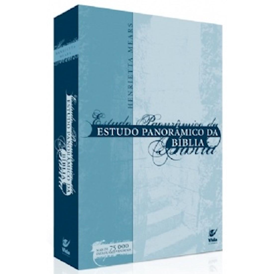 Livro Estudo Panorâmico da Bíblia