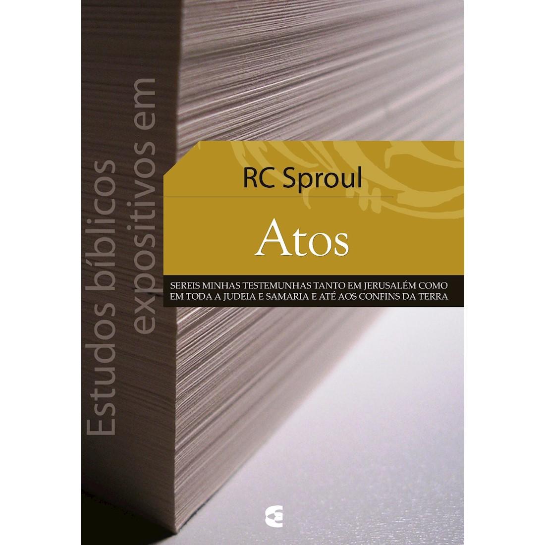 Livro Estudos Bíblicos Expositivos em Atos