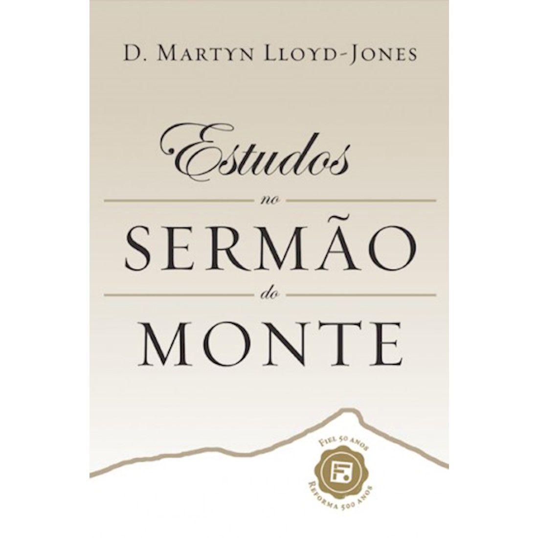 Livro Estudos no Sermão do Monte - Capa Dura