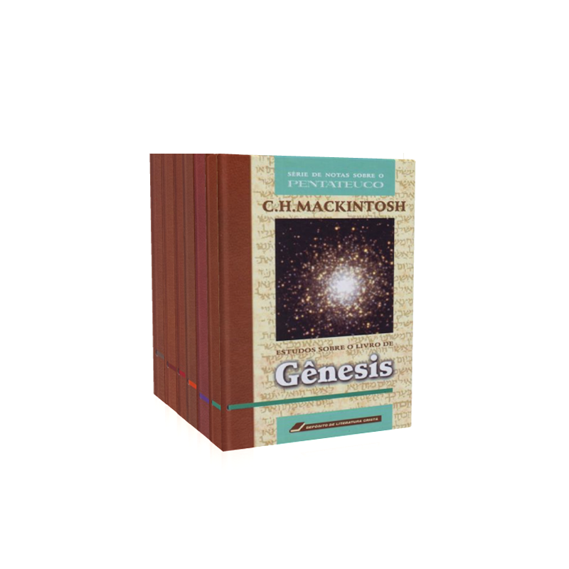 Livro Estudos sobre o Pentateuco - Conjunto Vols. 1 a 6