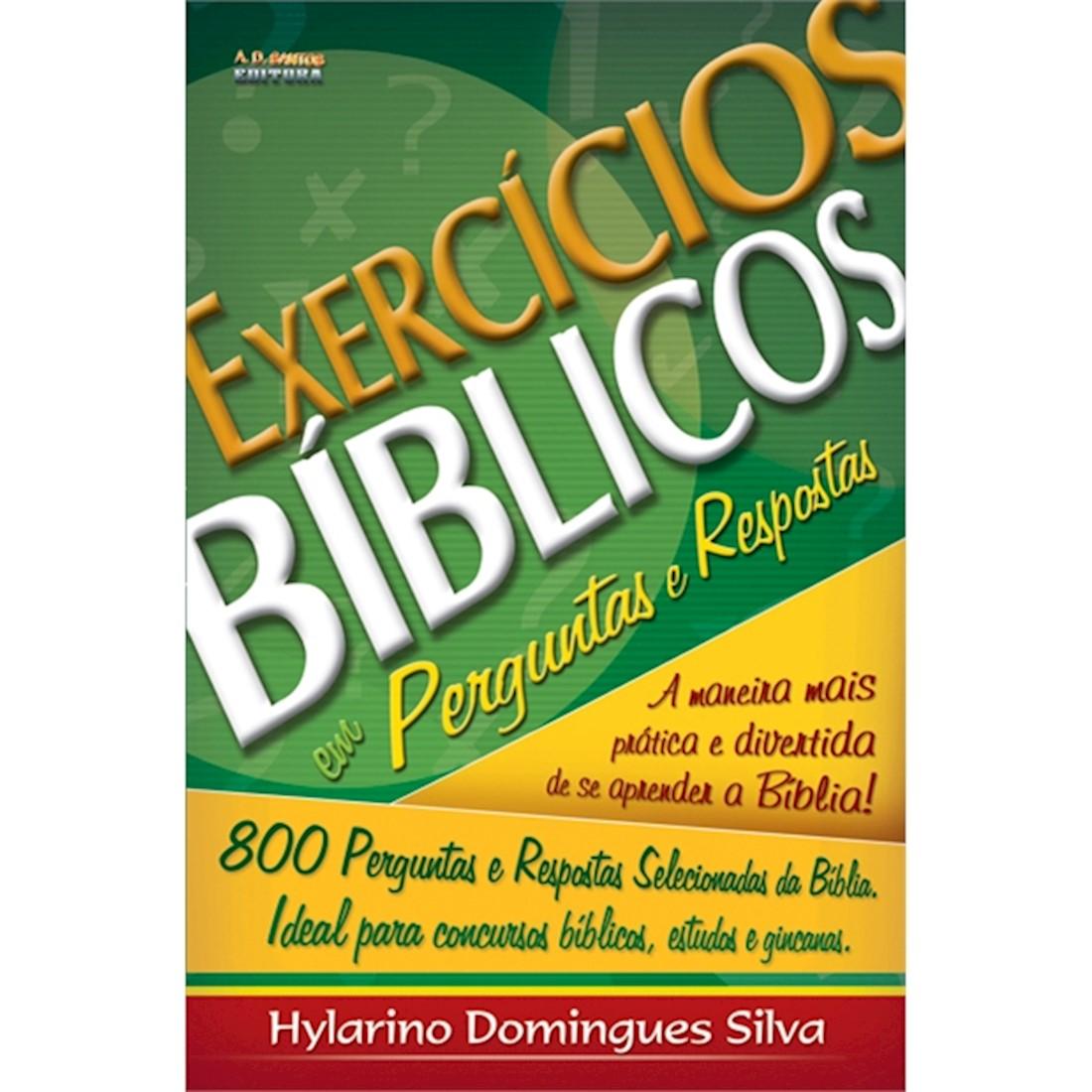 Livro Exercícios Bíblicos em Perguntas e Respostas