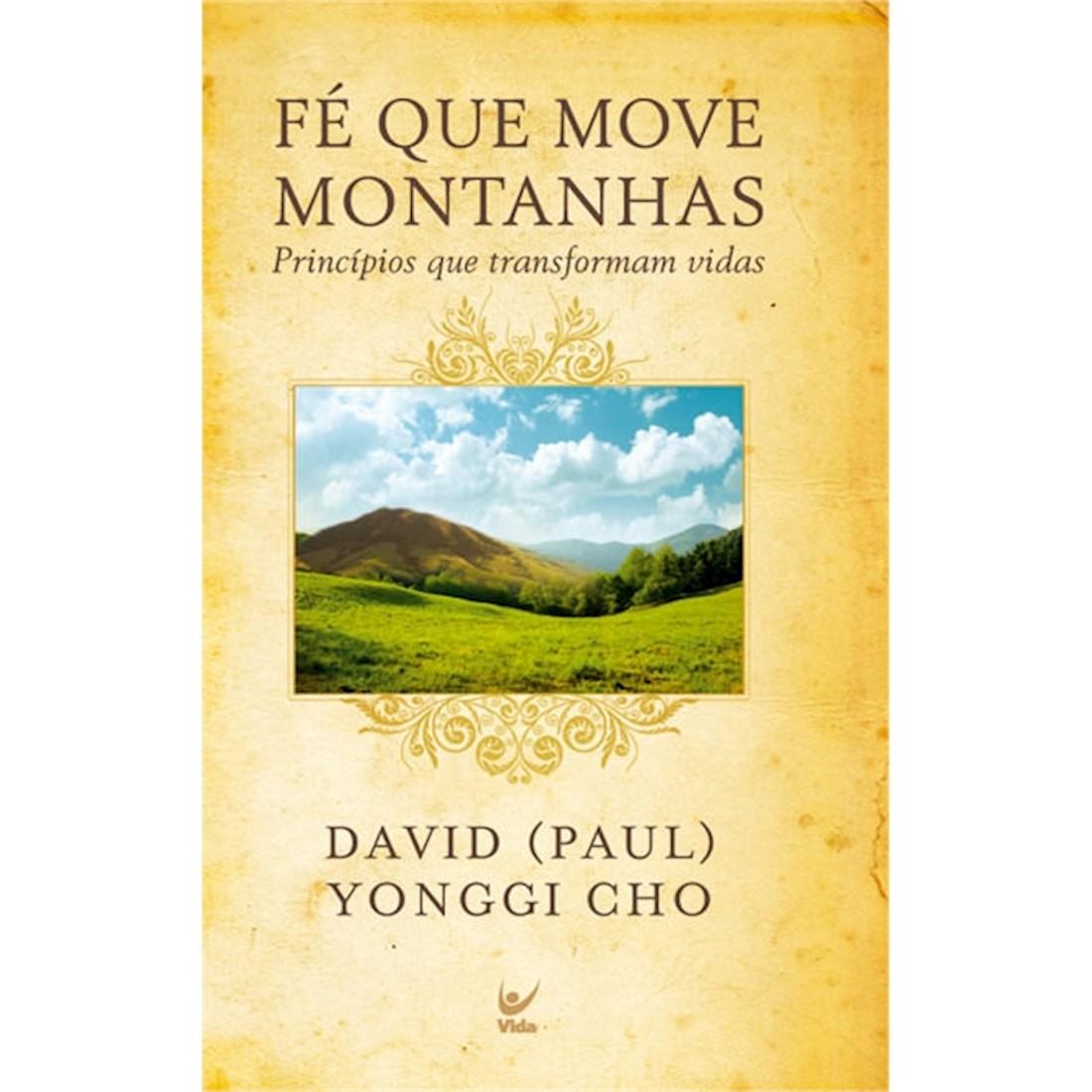 Livro Fé que Move Montanhas