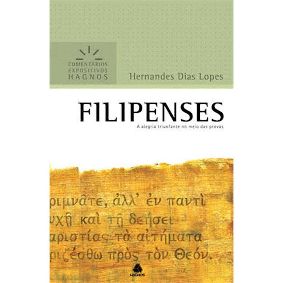 Livro Filipenses | Comentários Expositivos Hagnos