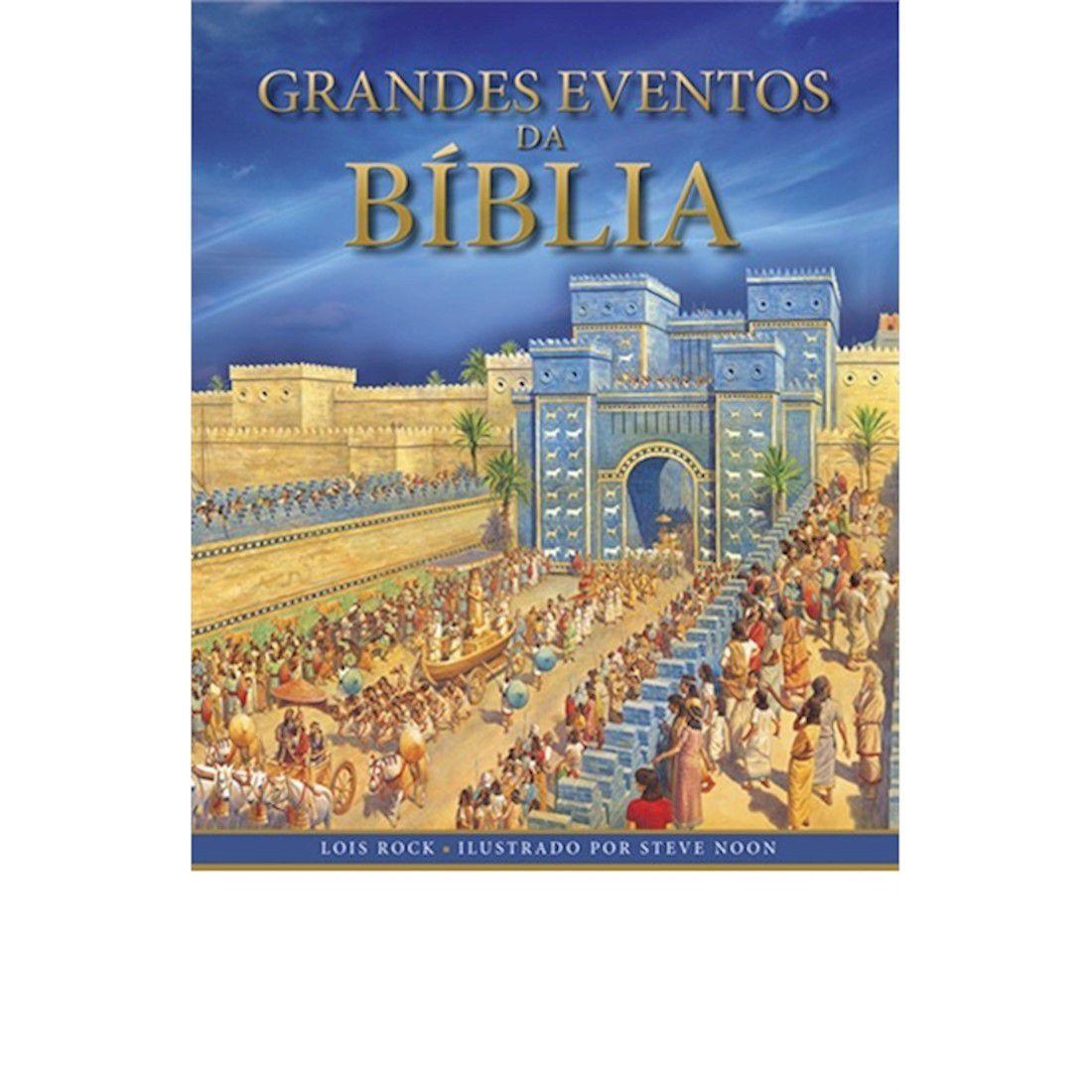Livro Grandes Eventos da Bíblia