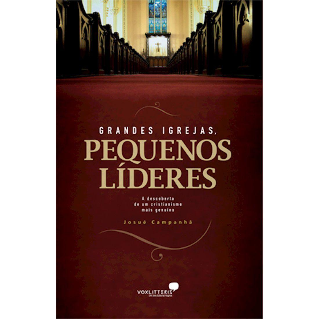 Livro Grandes Igrejas, Pequenos Líderes