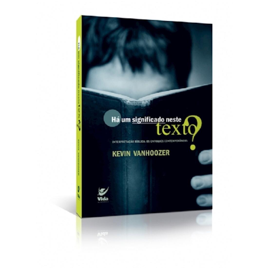 Livro Há um Significado Neste Texto?