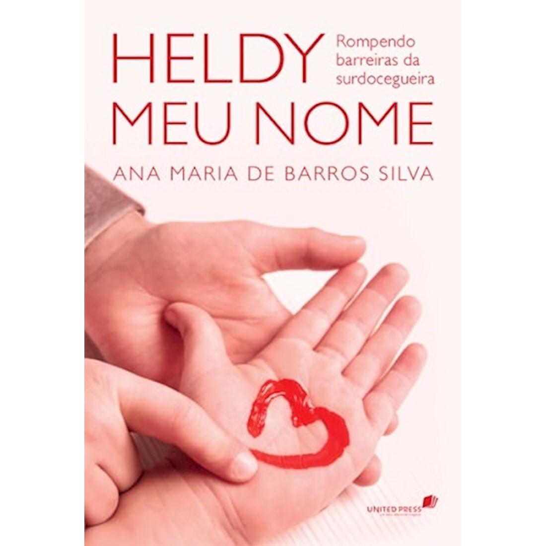 Livro Heldy Meu Nome