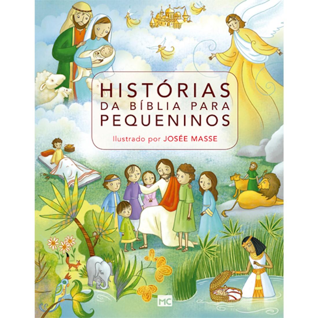 Livro Histórias da Bíblia para Pequeninos