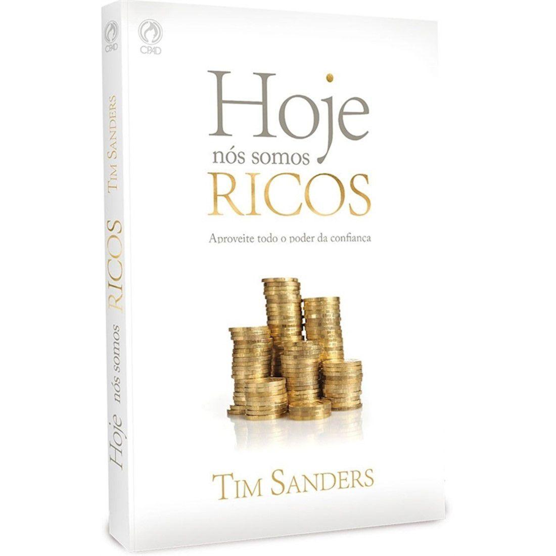 Livro Hoje nós Somos Ricos