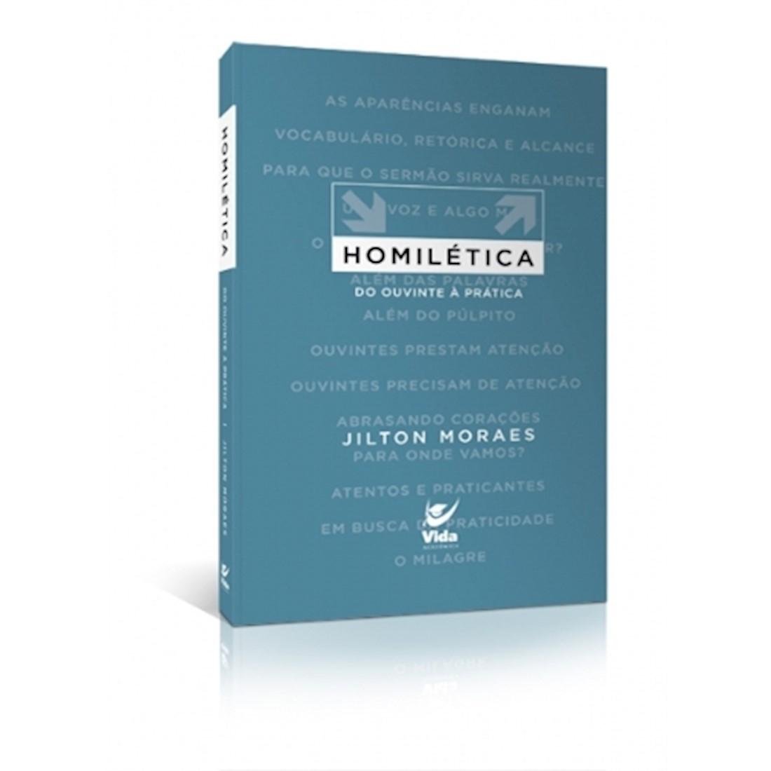 Livro Homilética - Do Ouvinte à Prática