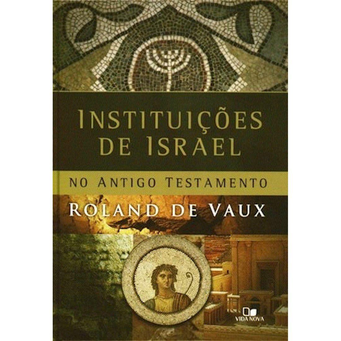 Livro Instituições de Israel no Antigo Testamento