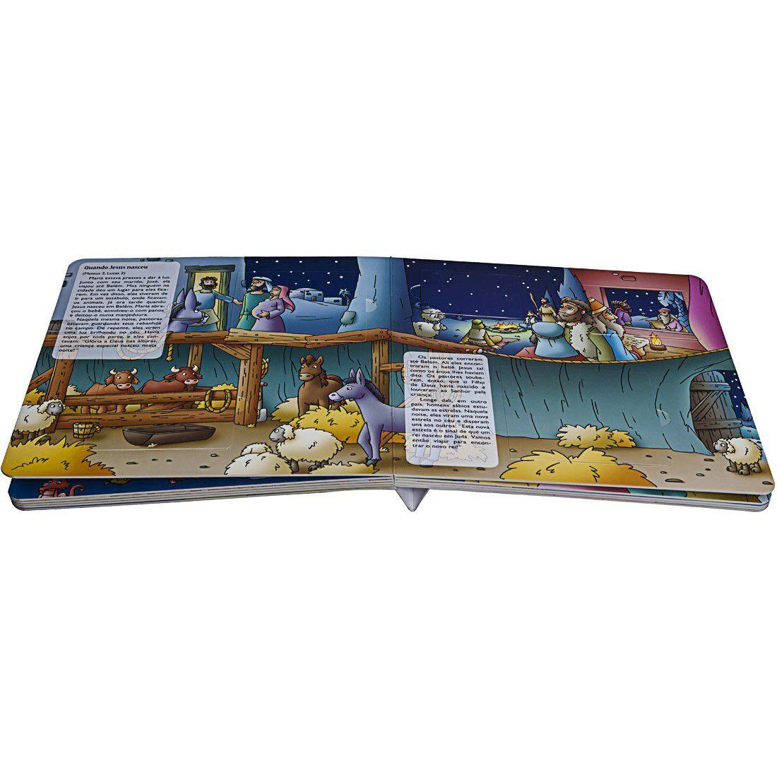 Livro Interativo com Abas - Minhas Histórias Queridas Da Bíblia