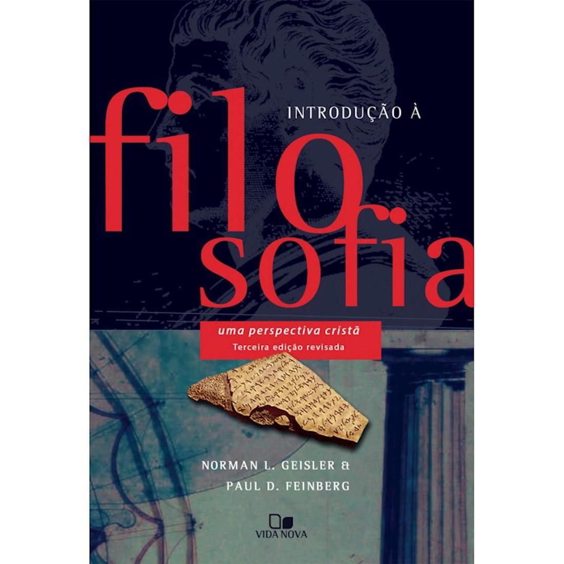 Livro Introdução à Filosofia - Terceira edição Revisada