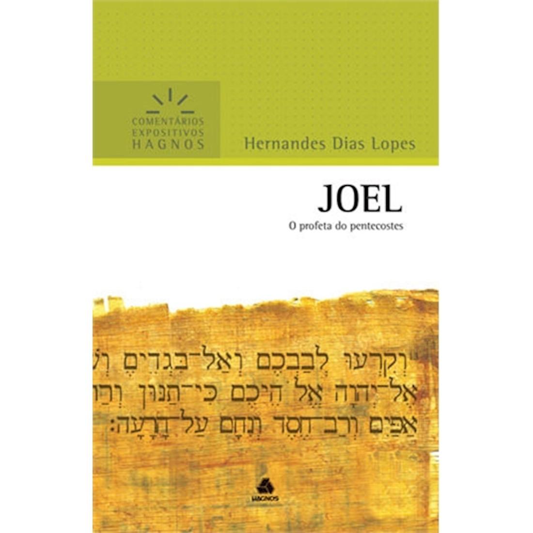 Livro Joel   Comentários Expositivos Hagnos