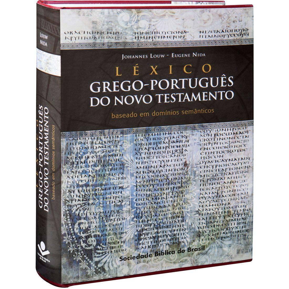 Livro Léxico Grego-Português do Novo Testamento