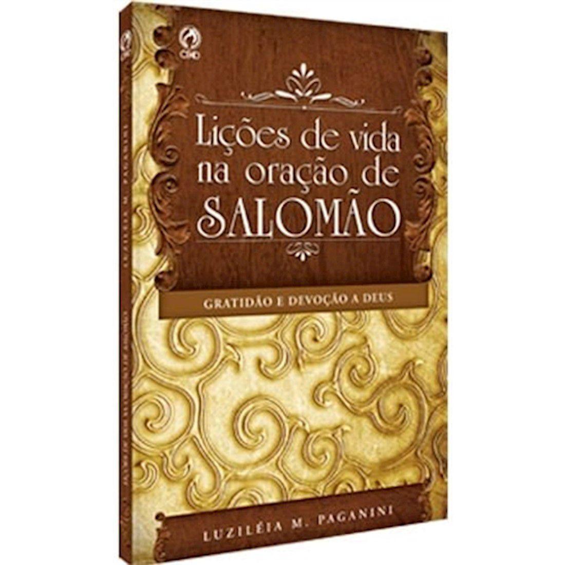 Livro Lições de Vida na Oração de Salomão