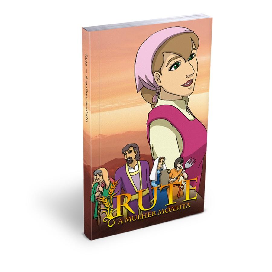 Livro Mangá Rute A Mulher Moabita