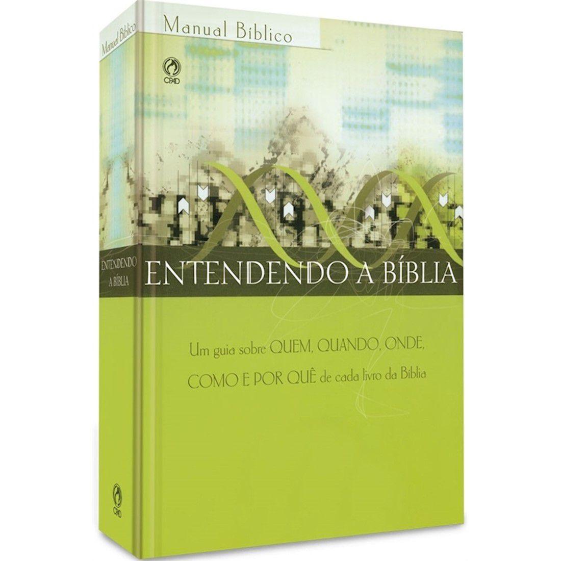 Livro Manual Bíblico - Entendendo a Bíblia