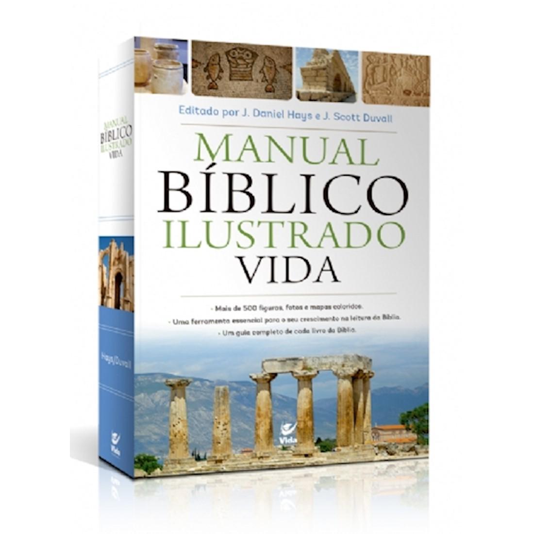 Livro Manual Bíblico Ilustrado Vida