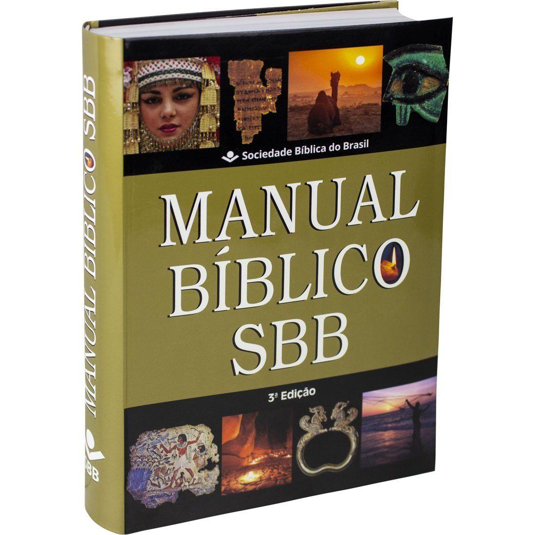 Livro Manual Bíblico SBB - 3ª Edição
