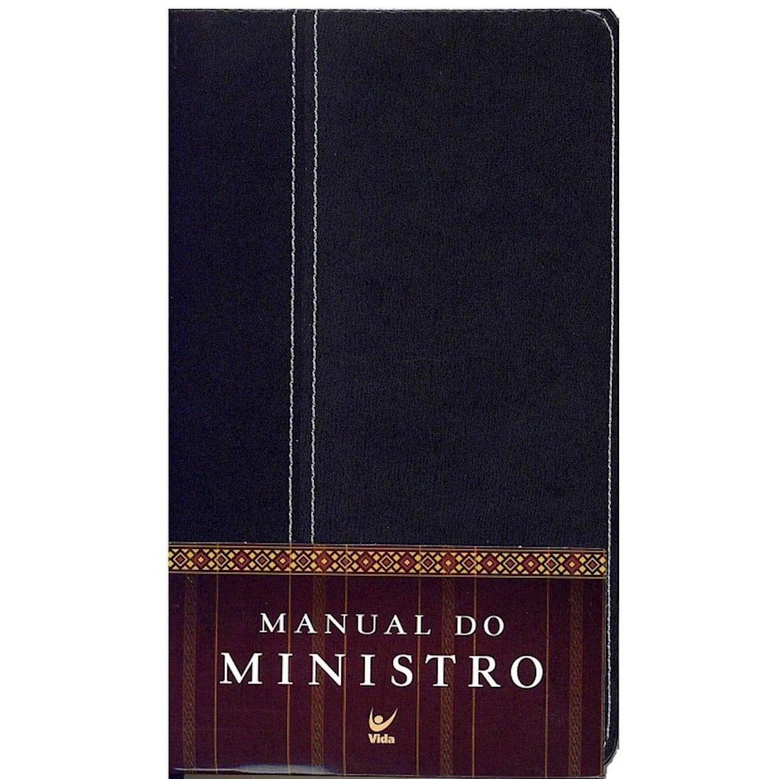 Livro Manual do Ministro - Capa Luxo