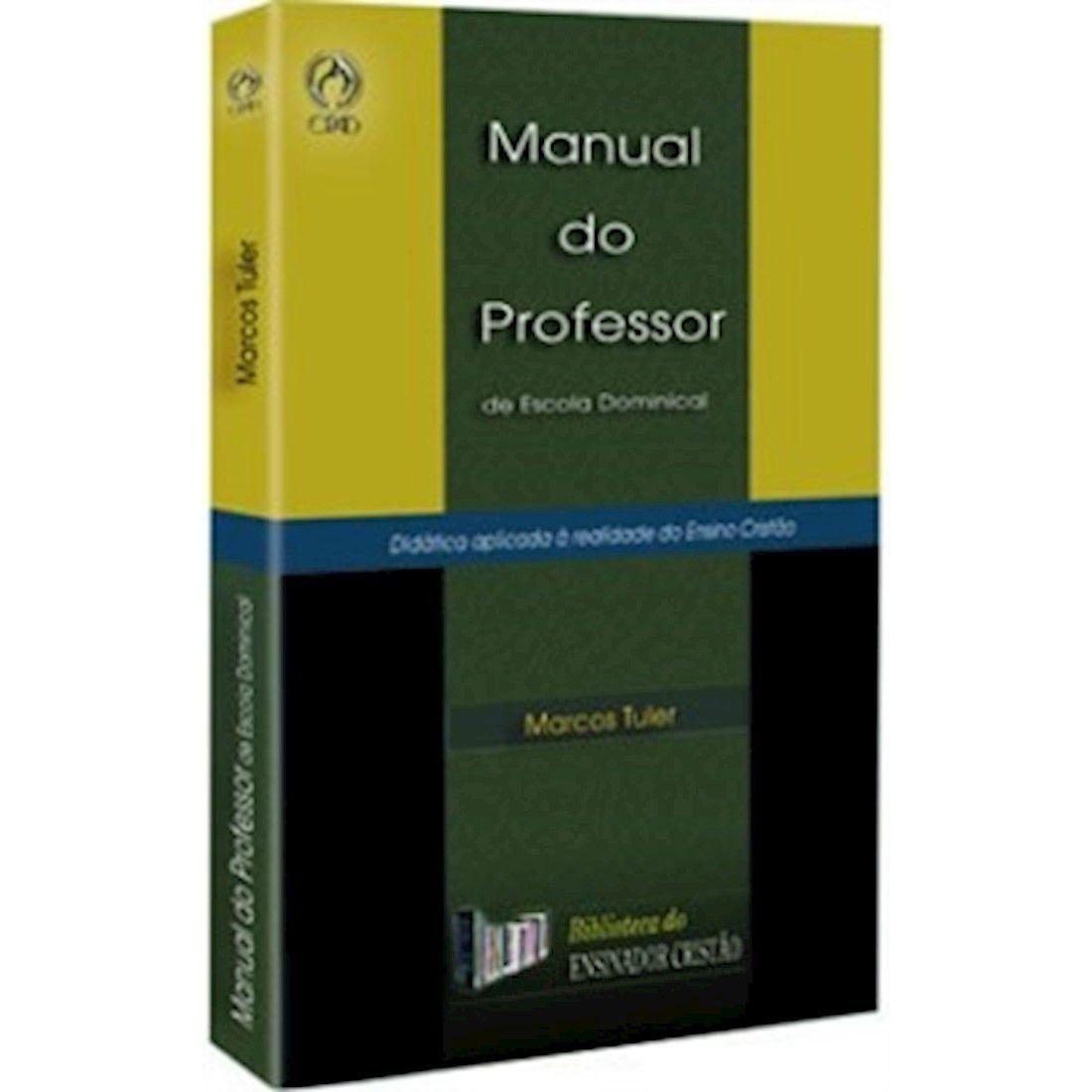 Livro Manual do Professor de Escola Dominical