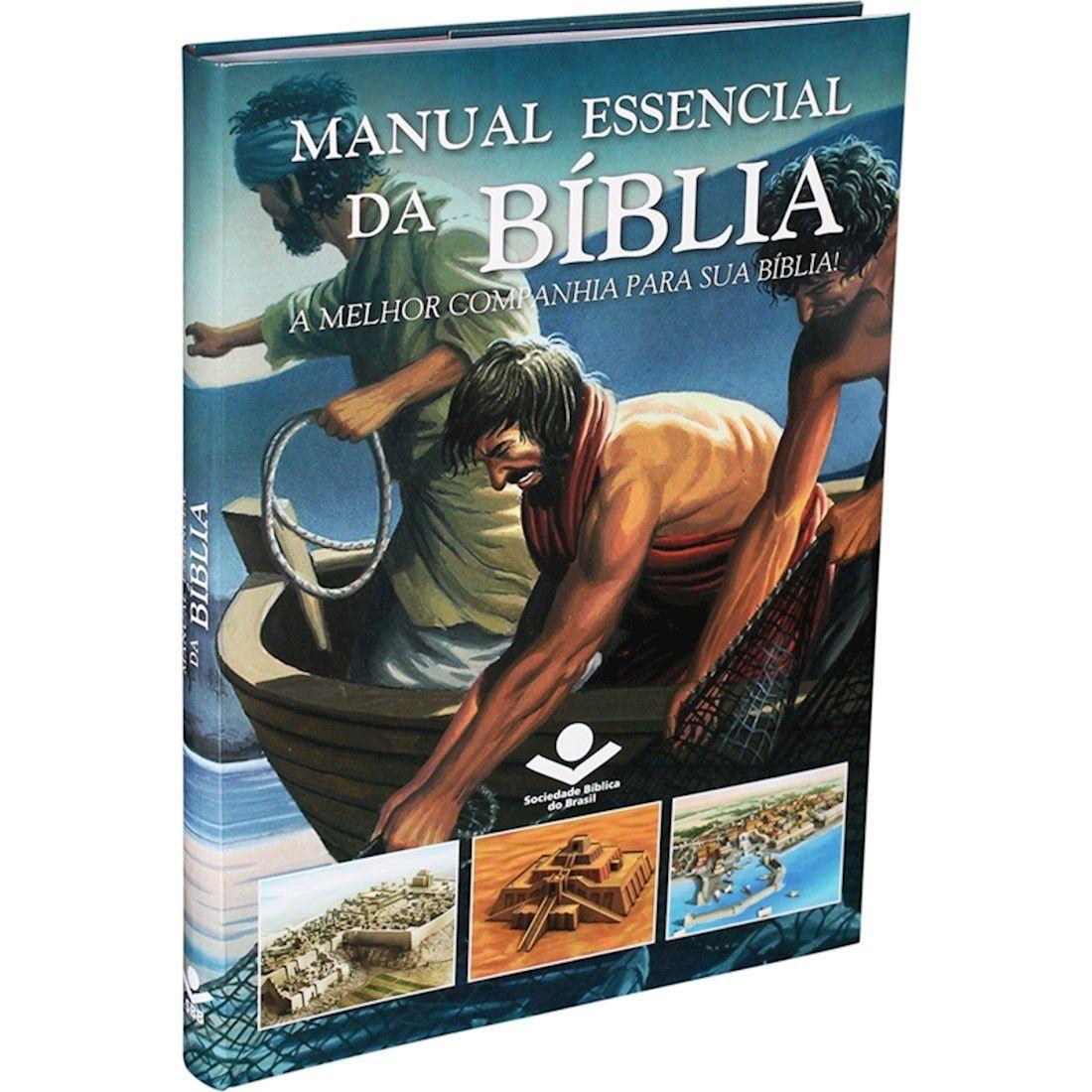 Livro Manual Essencial Da Bíblia: A Melhor Companhia Para Sua Bíblia!