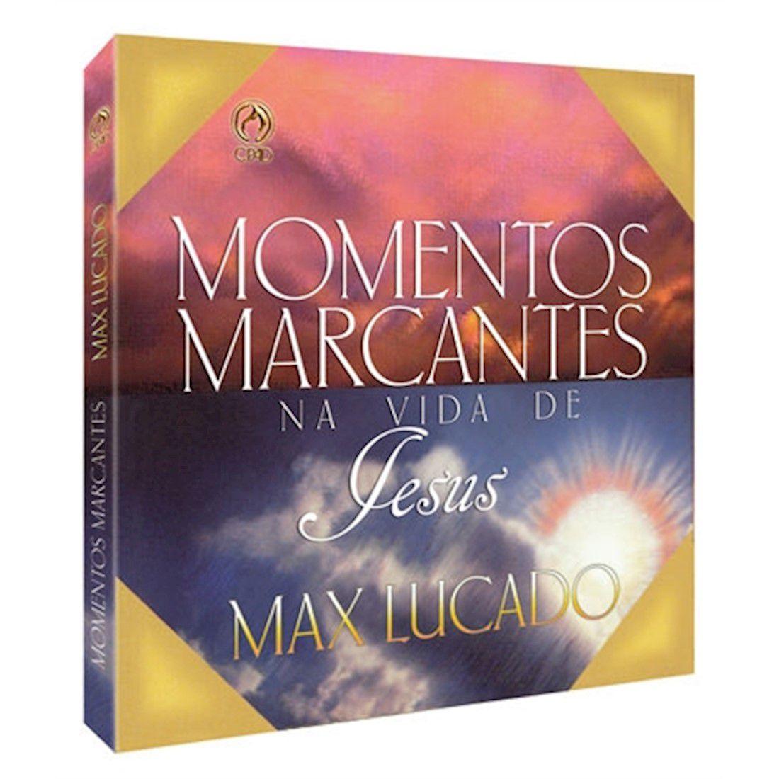 Livro Momentos Marcantes Na Vida de Jesus
