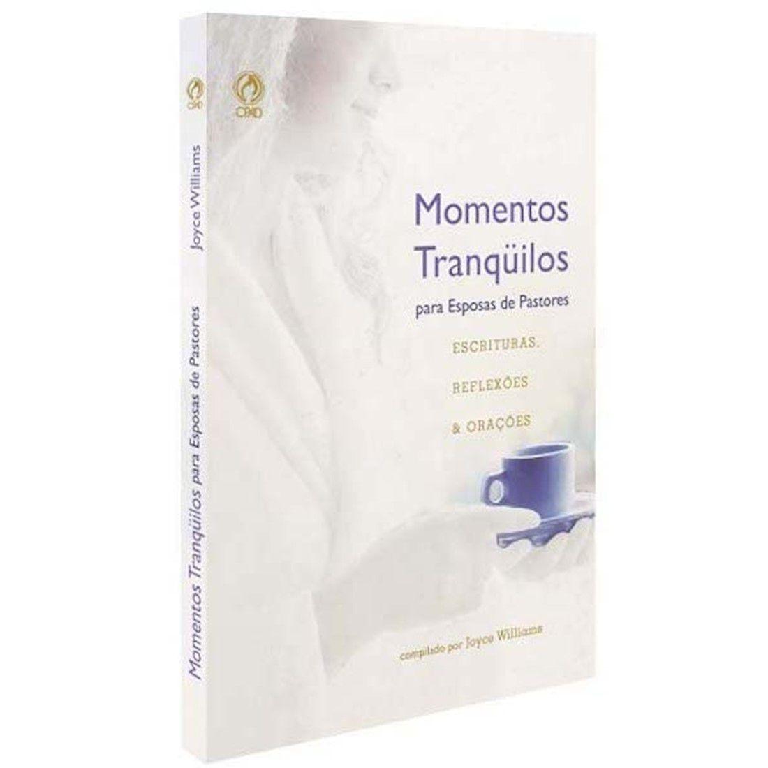 Livro Momentos Tranquilos para Esposas de Pastores
