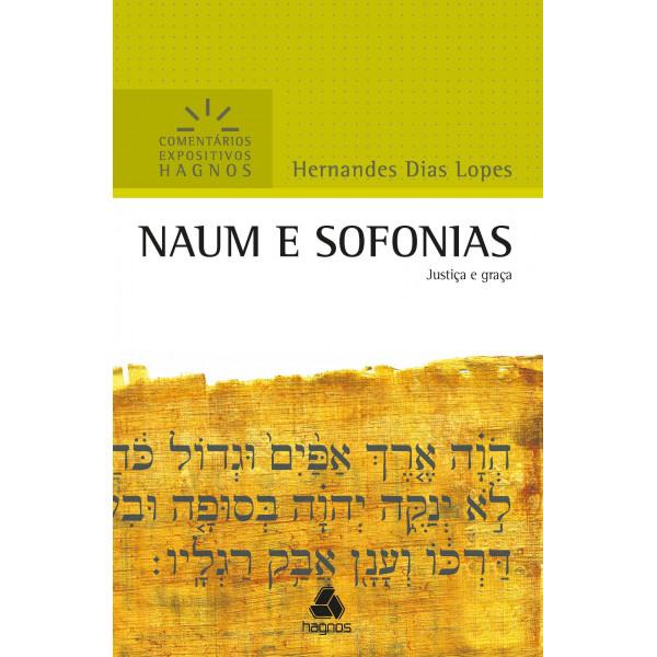 Livro Naum e Sofonias - Comentários Expositivos