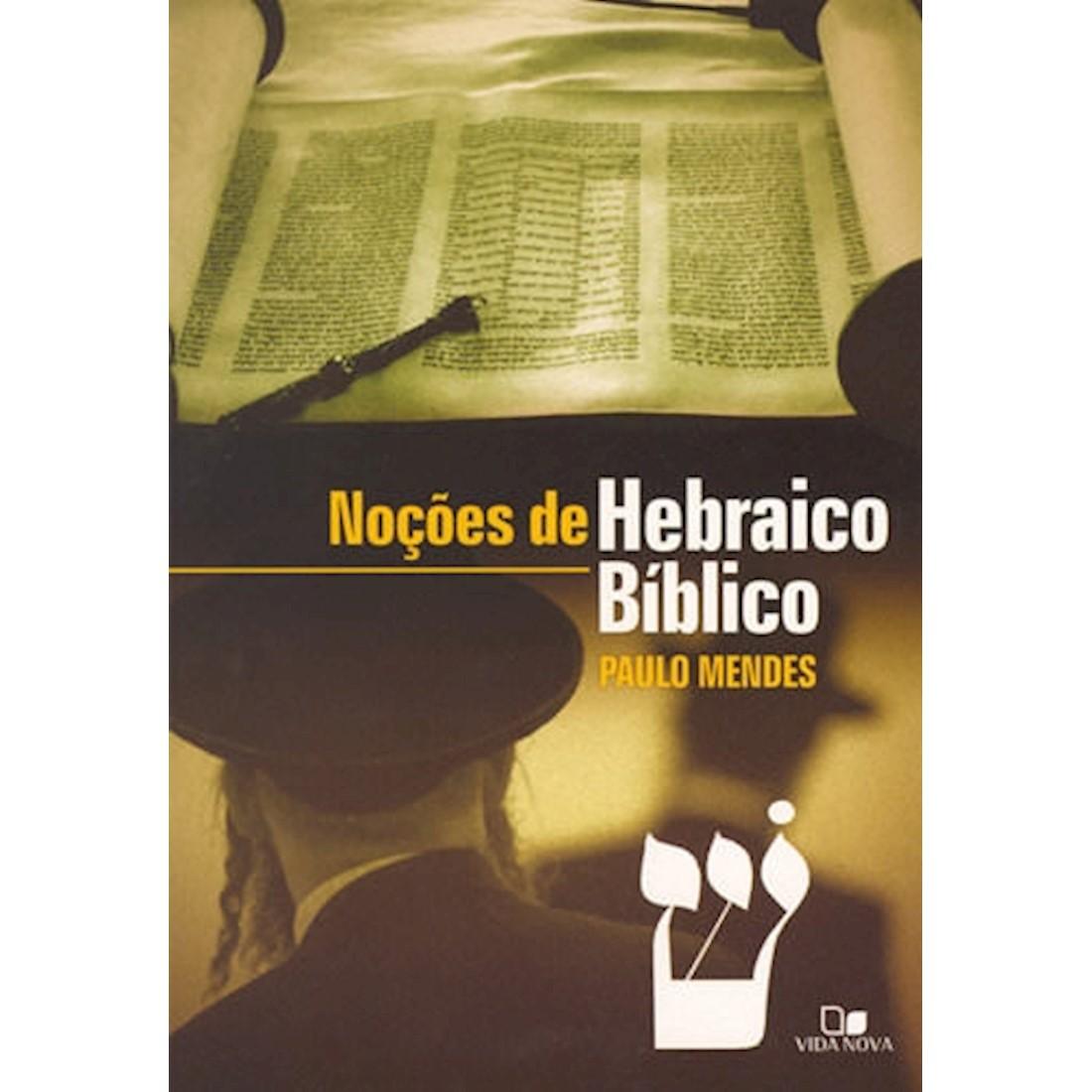 Livro Noções de Hebraico Bíblico