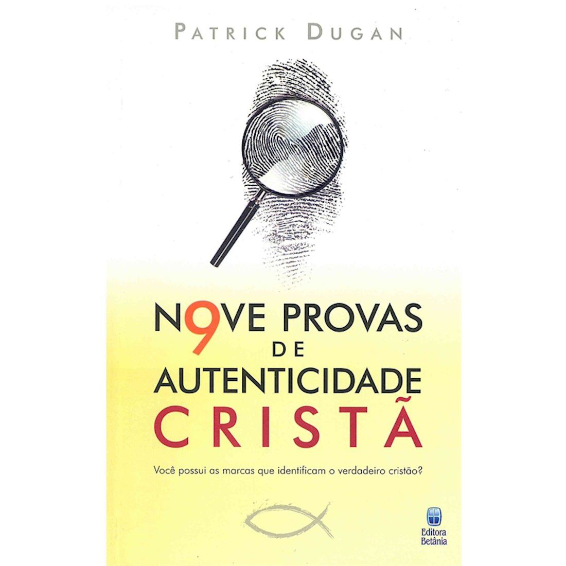 Livro Nove Provas de Autenticidade Cristã
