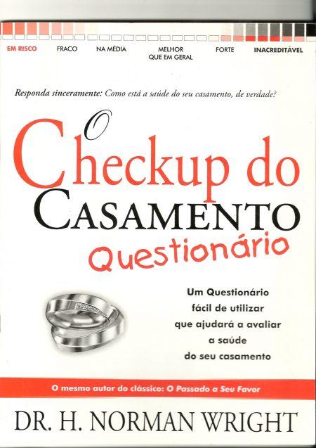 Livro O Checkup do Casamento - Questionário