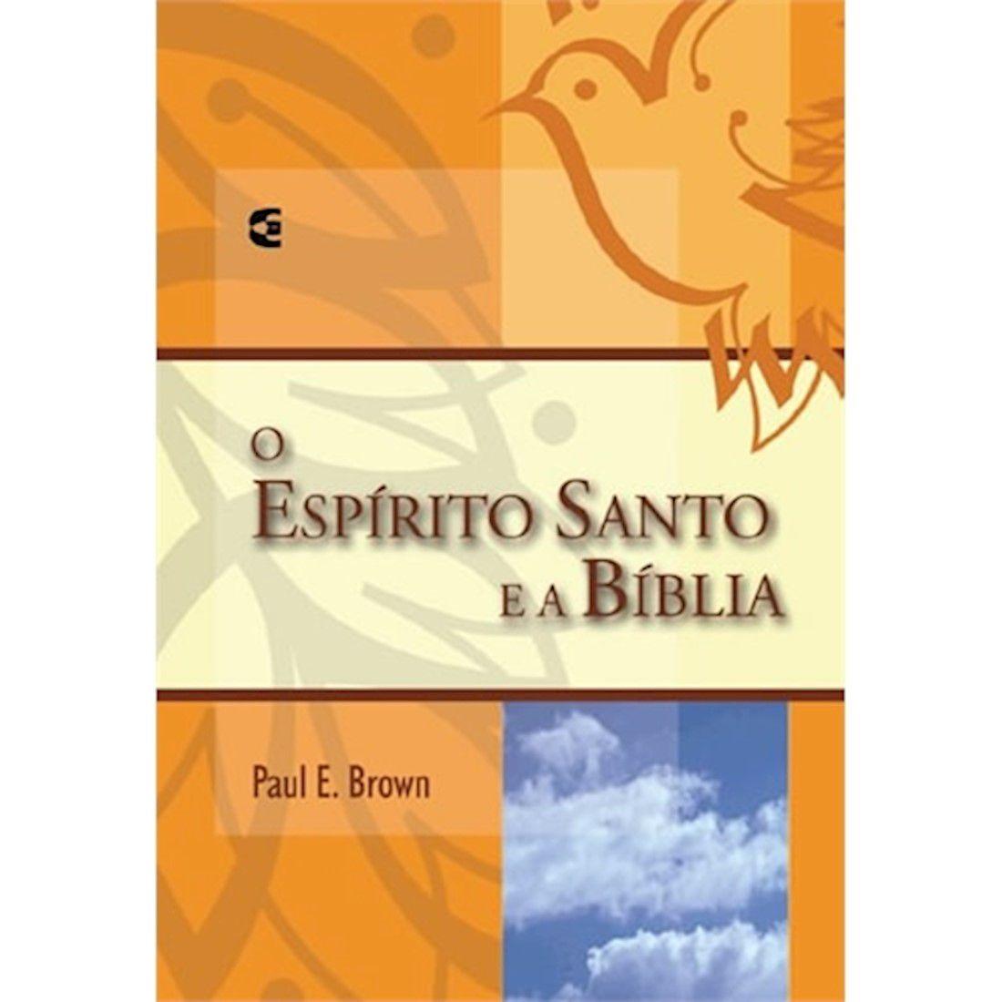 Livro O Espírito Santo e a Bíblia