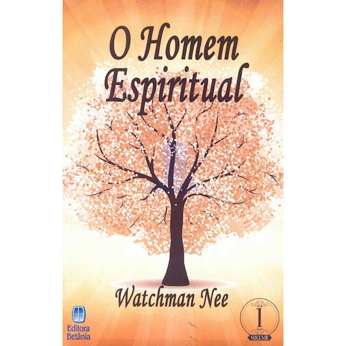 Livro O Homem Espiritual - Vol. 1