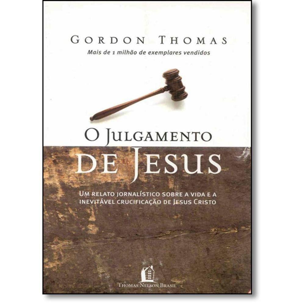 Livro O Julgamento de Jesus