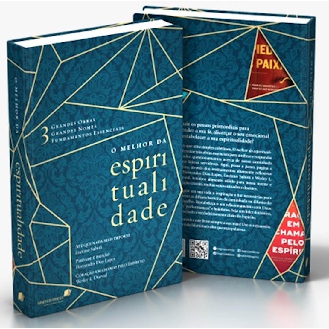 Livro O Melhor da Espiritualidade - Capa Dura