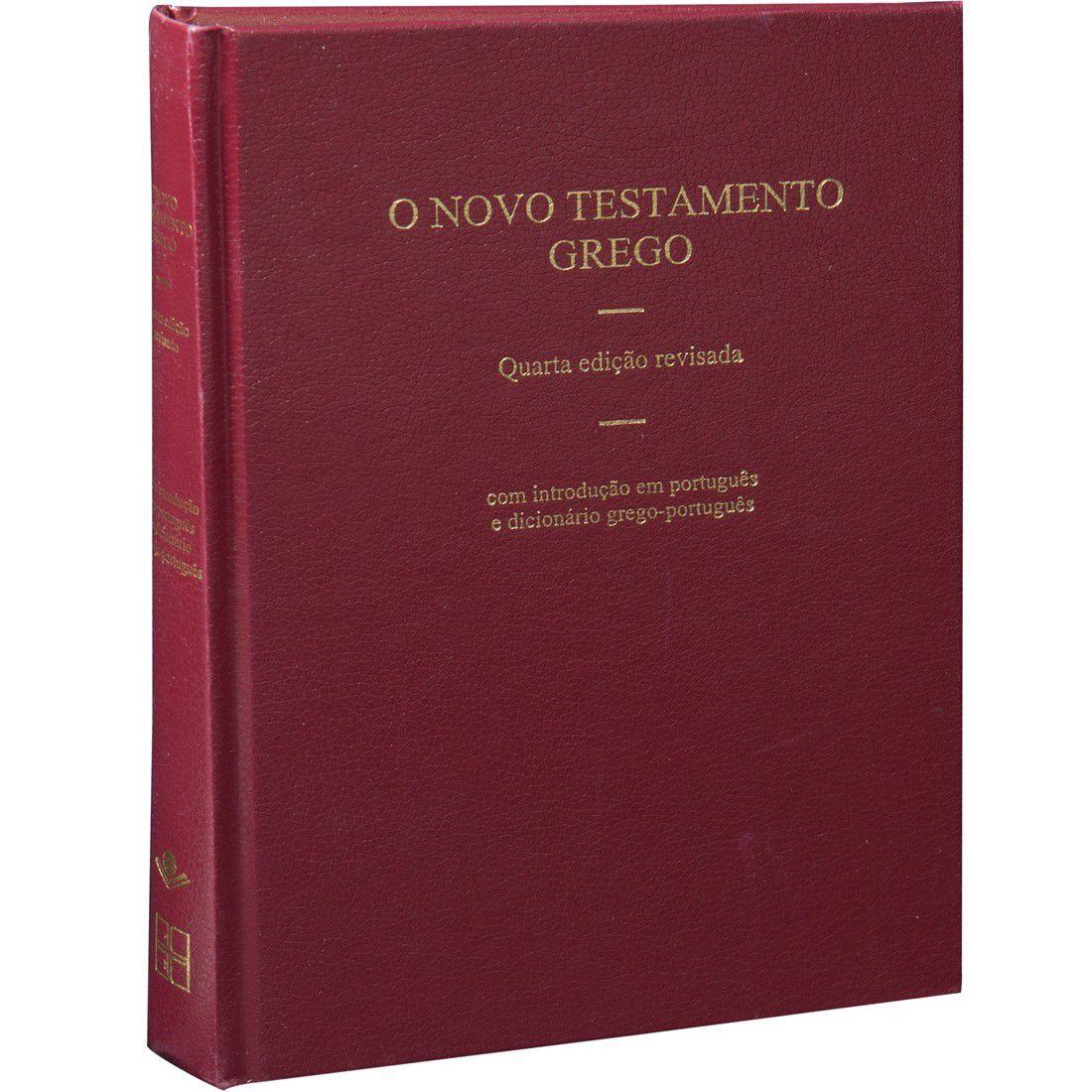 Livro o Novo Testamento Grego