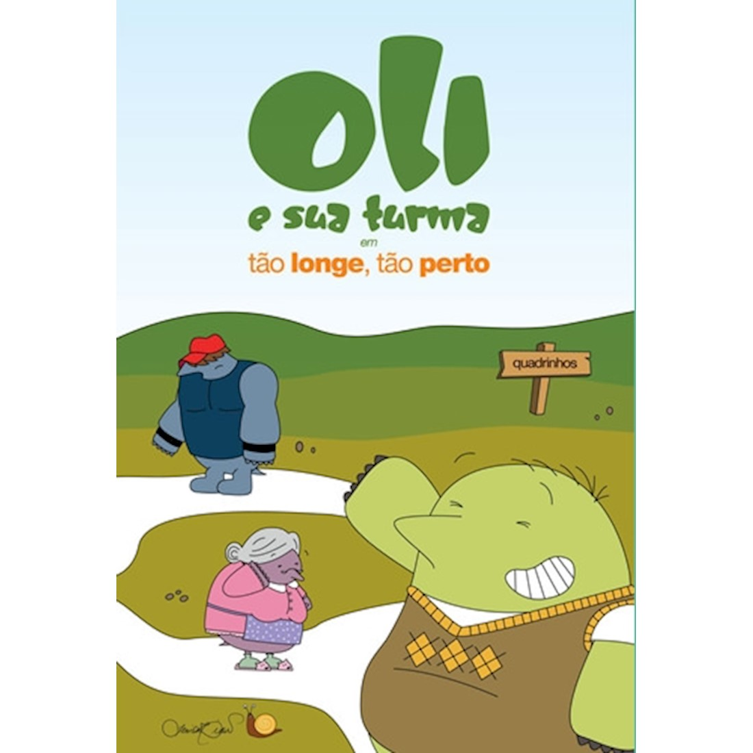 Livro Oli e sua Turma