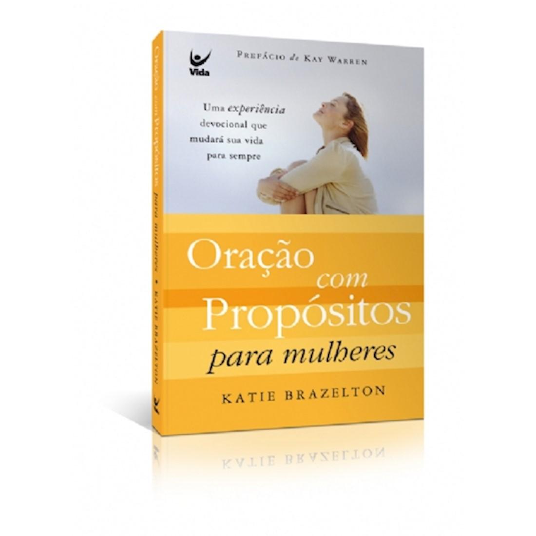 Livro Oração com Propósitos para Mulheres