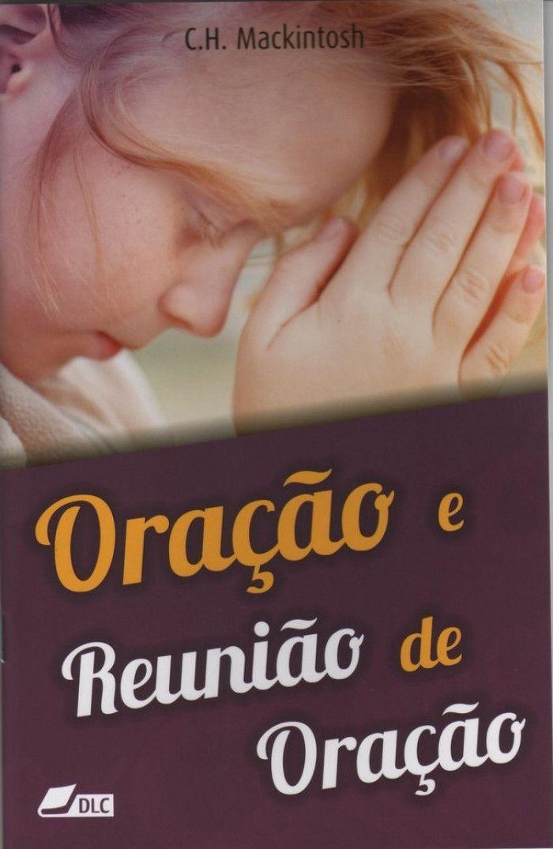 Livro Oração e Reunião de Oração