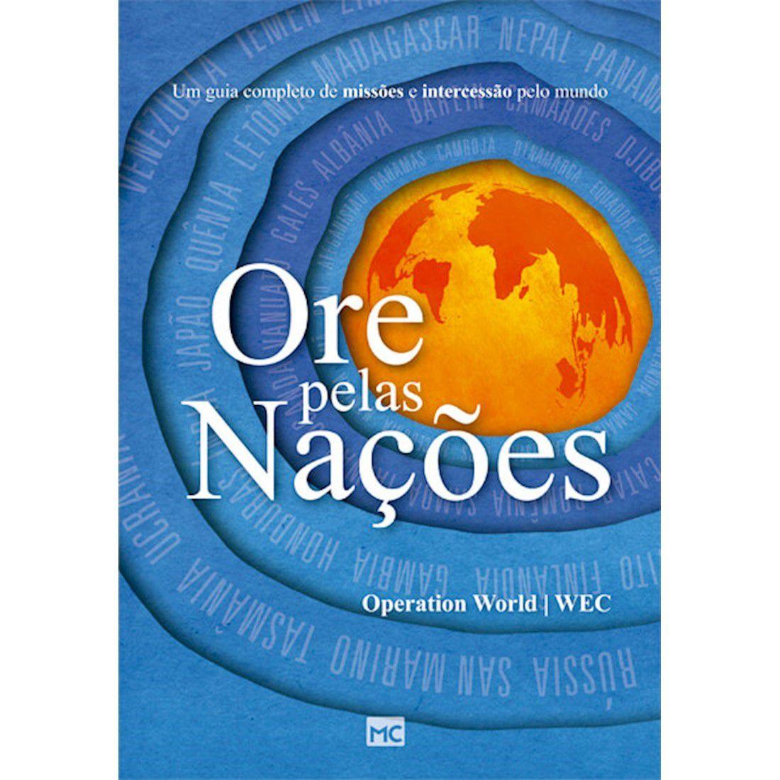 Livro Ore pelas Nações - Produto Reembalado