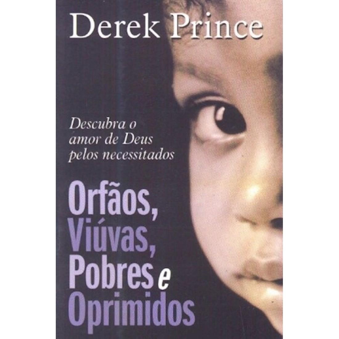 Livro Órfãos, Viúvas, Pobres e Oprimidos