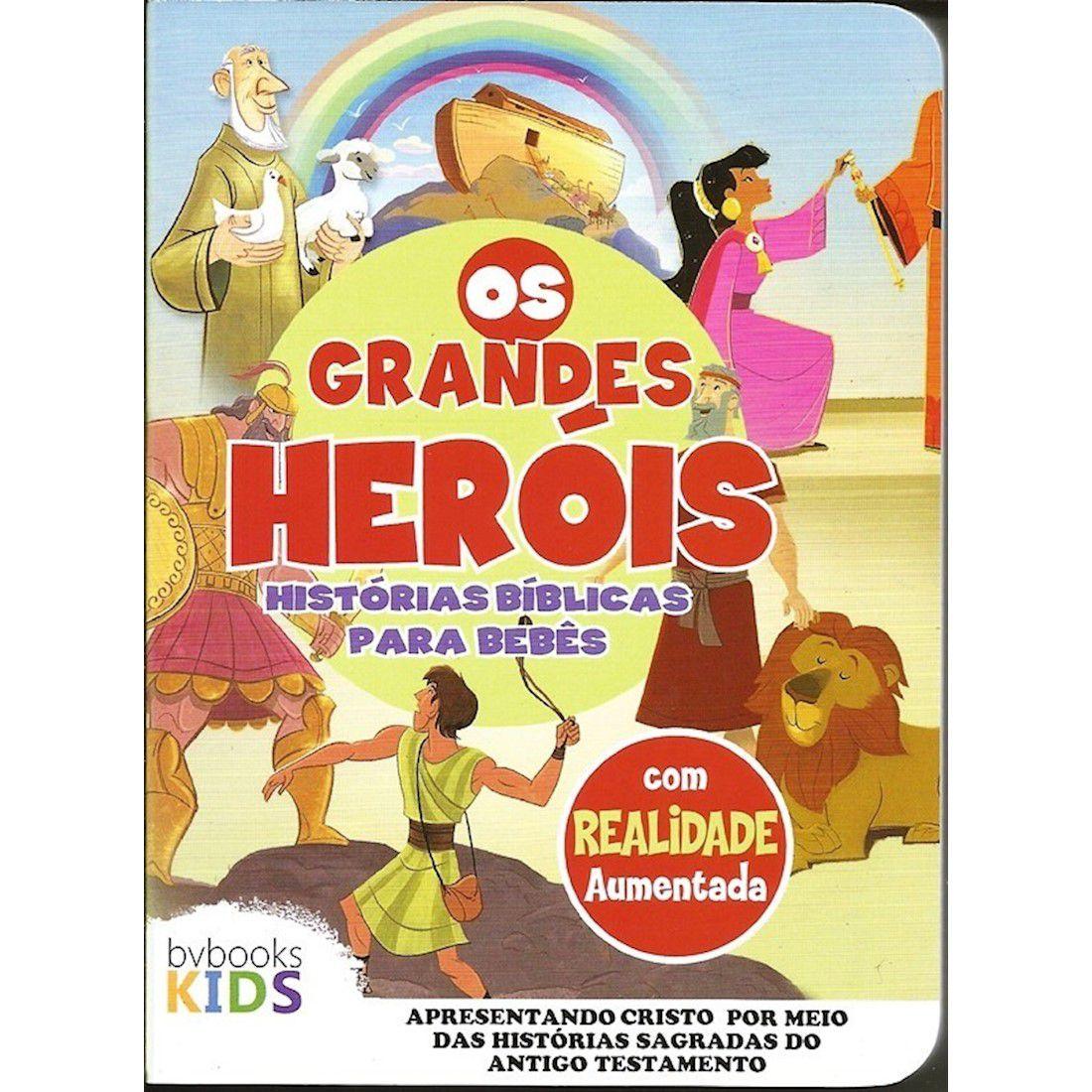 Livro Os Grandes Heróis - Histórias Bíblicas para Bebês