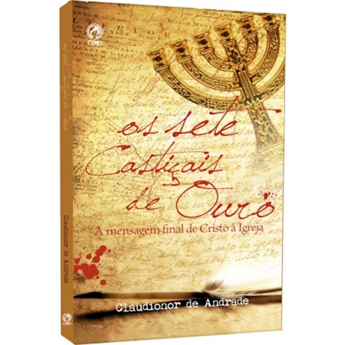 Livro Os Sete Castiçais de Ouro